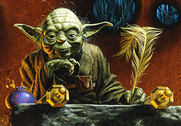Yoda by Michael Whelan